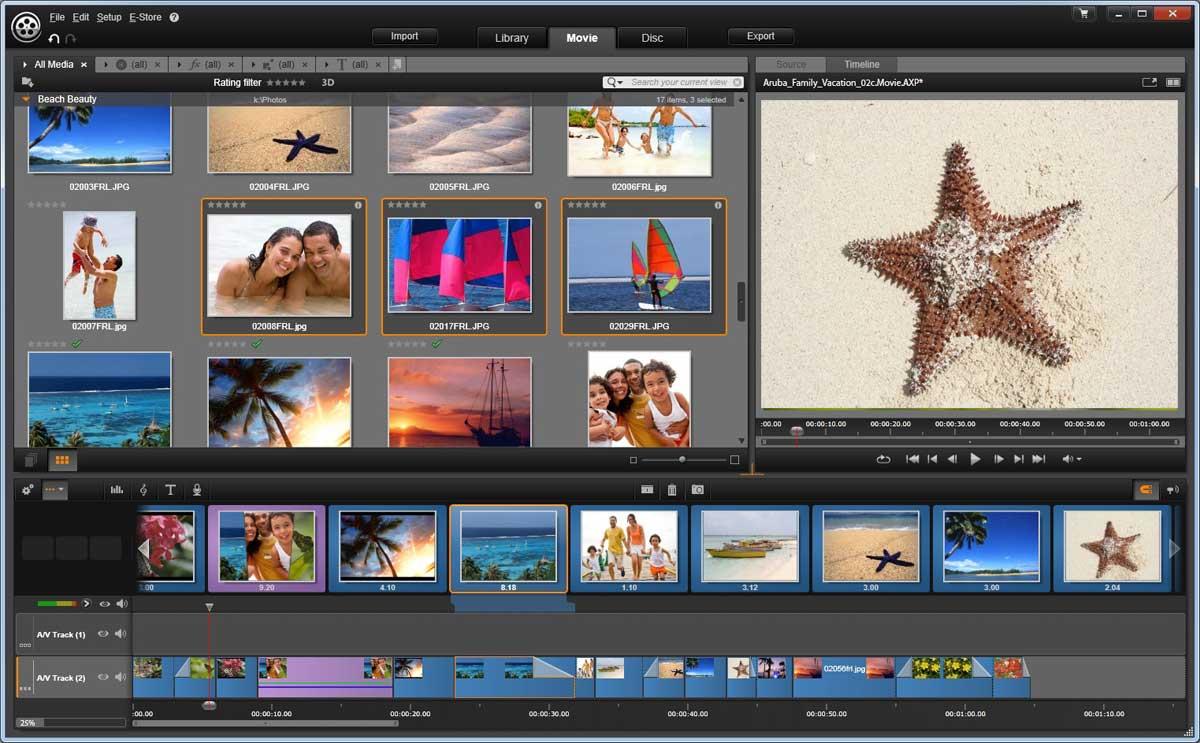 Pinnacle video editing software download free